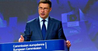 Ue, Conte sente Macron e Merkel: 'Recovery fund sia all'altezza della sfida'. Le Maire avverte: 'Austria, Danimarca, Svezia e Olanda contrarie'. Dombrovskis: 'Ambizione Commissione è arrivare a mille miliardi'