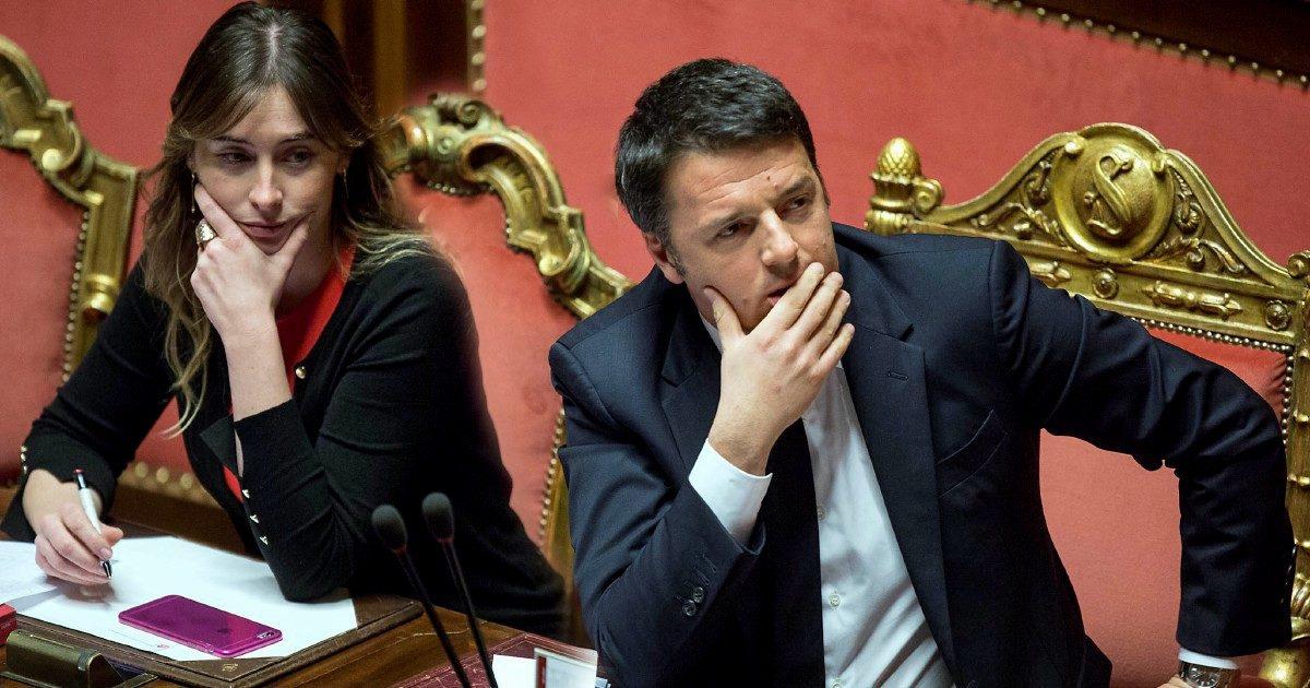 Renzi: salvare Bonafede per la Boschi ministro