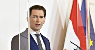 """Austria, il premier Kurz favorevole al passaporto vaccinale anti-Covid in Ue: """"Vogliamo tornare alla normalità"""""""