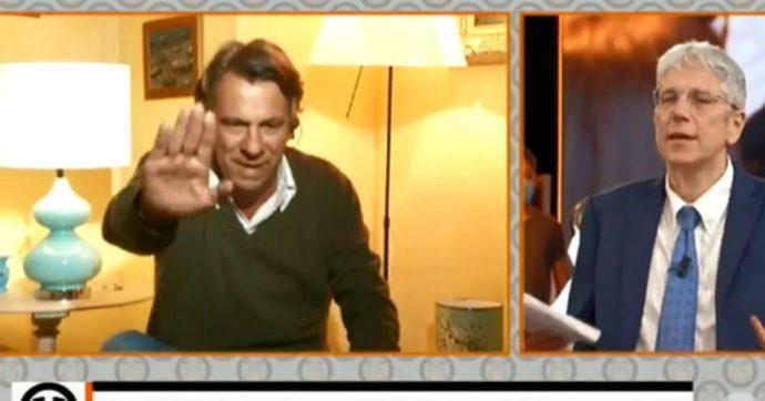 """Fuori dal Coro, Nicola Porro sbotta con Mario Giordano e urla: """"Chi se ne frega! Sono fott***, basta minch***"""""""
