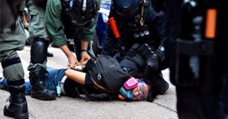 Hong Kong, polizia contro i manifestanti che protestano contro la futura legge sulla sicurezza voluta da Pechino: 150 arresti