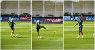 Cristiano Ronaldo, il fuoriclasse portoghese torna ad allenarsi e stupisce i tifosi in versione Lebron James