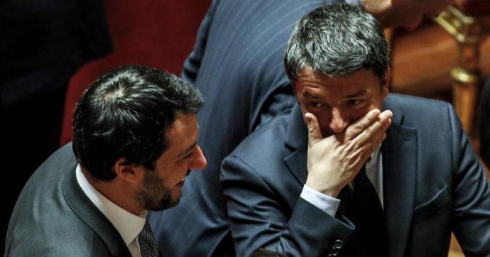 In edicola sul Fatto: Renzi, il palo della banda di Salvini. Salva il capo della Lega su Open arms con una 5S ribelle e un ex