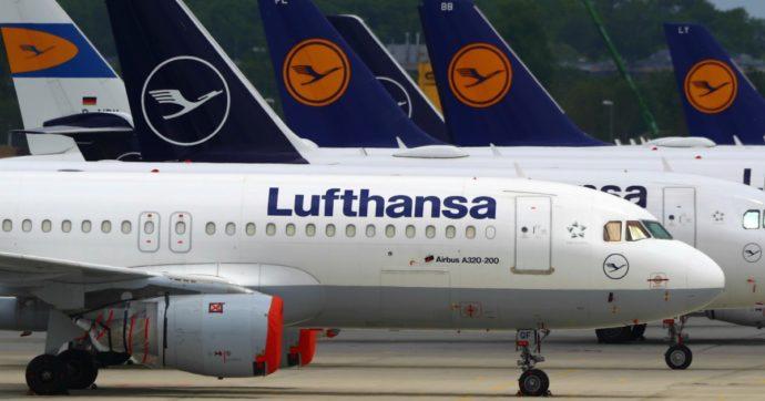 Lufthansa, via libera dell'Europa ai 6 miliardi di aiuti della Germania per ricapitalizzarla