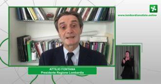 """Coronavirus, Fontana: """"Dati positivi, convinto che dal 3 giugno i lombardi saranno liberi di circolare in tutta Italia"""""""