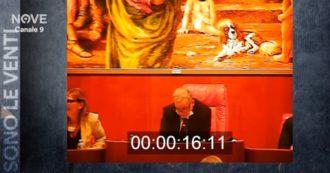 Regione Calabria, solo due minuti di seduta e nessuna discussione per ripristinare il vitalizio. Il video di Sono le venti (Nove)