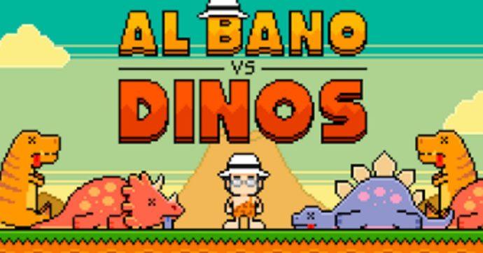 Al Bano contro i dinosauri: dopo la gaffe, il cantante diventa il protagonista di un videogioco virale