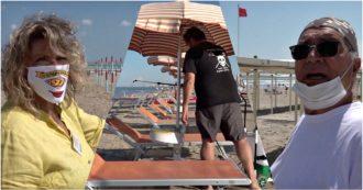 """Vacanze 2020 – Viaggio nei bagni di Romagna: tra posti dimezzati e igienizzazioni. """"Qui abbiamo inventato il turismo di massa, tocca a noi rinnovarlo. E resistere"""" (VIDEO)"""