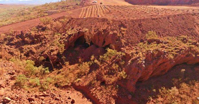 """Australia, colosso minerario distrugge sito indigeno sacro che ha 46mila anni poi si scusa: """"Errore"""""""