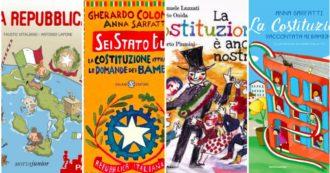 """2 giugno, filastrocche, disegni e risposte semplici a domande """"da grandi"""": 5 libri per spiegare la Festa della Repubblica ai bambini"""
