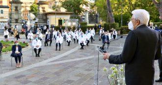 Coronavirus, Mattarella premia i sacrifici dell'Italia in prima linea. I medici, l'addetta delle pulizie, la cassiera, il rider, l'autista del 118 e i volontari: la lista dei 57 nominati cavalieri al merito