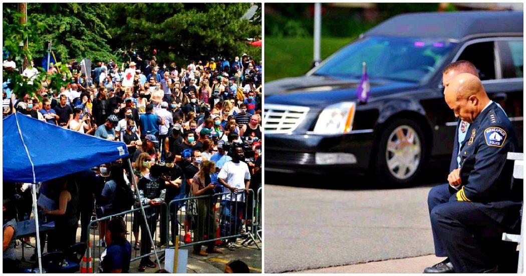 George Floyd, l'America si ferma per i funerali. Migliaia a Minneapolis, diretta tv negli Usa. 'Aveva Covid, ma morto per pandemia di razzismo'