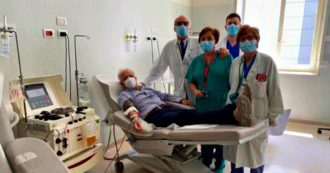 Coronavirus, al via donazioni di plasma all'ospedale Sacco di Milano. Il giudice guarito Fabio Roia è il primo