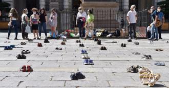 Fridays for future, pochi giovani in piazza contro il cambiamento climatico: dalle scarpe di Torino al tour in bici di Firenze e Bergamo