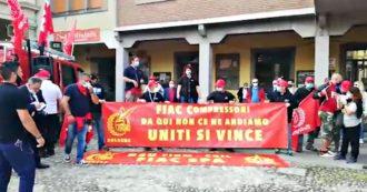 """Bologna, azienda di compressori annuncia trasferimento di 100 operai a Torino: lavoratori in corteo.  Fiom: """"Licenziamento mascherato"""""""