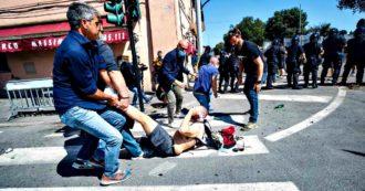 Roma, manifestazione Forza Nuova-ultras al Circo Massimo: risse tra manifestanti e attacchi a giornalisti e forze dell'ordine