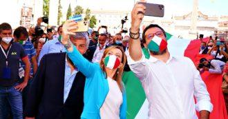 """""""Berlusconi parla come Renzi"""", """"Salvini come il M5s"""": Lega e Fi """"non si capiscono più"""". I sondaggi: berlusconiani decisivi per l'alleanza"""