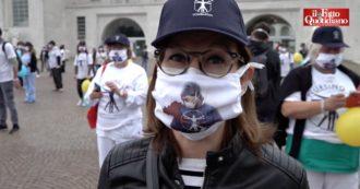 """Milano, protesta degli infermieri davanti all'ospedale Niguarda: """"Abbiamo gli stipendi più bassi d'Europa. Ieri eroi, oggi dimenticati"""""""