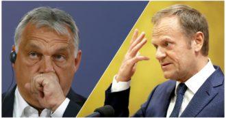 """Ue, è bufera nel Ppe. Tusk: """"Cosa deve ancora fare Fidesz per essere cacciato?"""". E l'ala liberal punta a espellere un altro membro ungherese"""