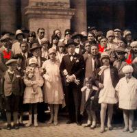 Alberto con la sua famiglia a 6 anni al matrimonio della cugina Fulda Sordi (foto dagli album di famiglia Righetti) – Photo credit: Igor Righetti