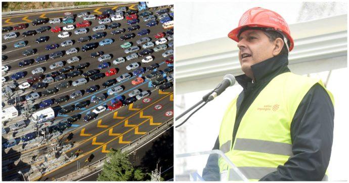 """Regione Liguria mette in mora il ministero per i tanti cantieri nelle autostrade. Toti: """"Piano scriteriato"""". Mit lo convoca con Aspi, Anas e Fs"""