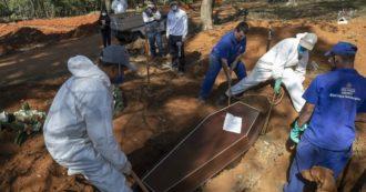 Coronavirus – Brasile, troppi morti a San Paolo: manca spazio, il comune ordina container per i cimiteri