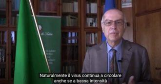 """Coronavirus, Rezza: """"Situazione epidemiologica migliora, ma virus continua a circolare. Non si possono escludere possibili nuovi focolai"""""""