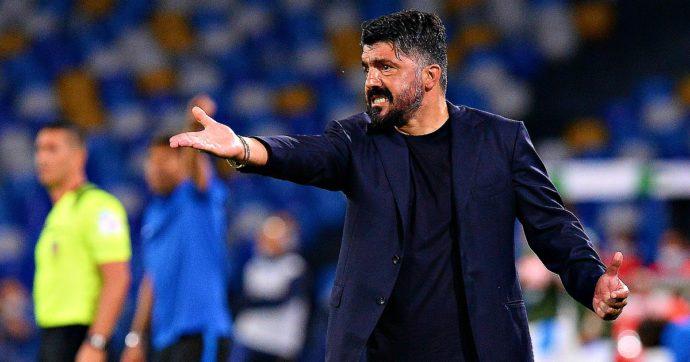 Ipotesi esonero per Gennaro Gattuso dopo il k.o. in semifinale Coppa Italia con l'Atalanta: decisiva la partita contro la Juventus
