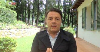 """Governo, Renzi: """"Alleanza con M5s? Distanze ancora innumerevoli. Pensare che io mi fidanzi in casa con Di Battista, anche no"""""""