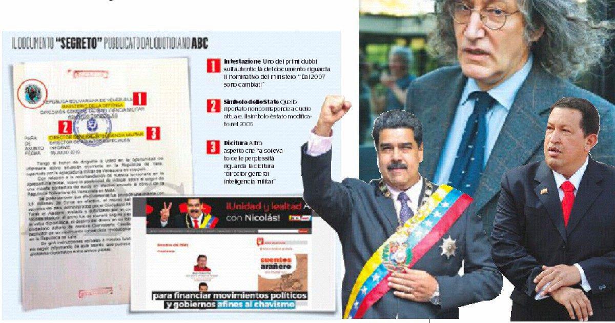 """""""Da Chávez soldi ai 5S"""". I tre buchi del dossier"""