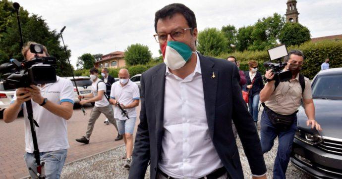 """Salvini: """"Arrivi dal M5s? Se qualcuno bussa, le porte della Lega sono aperte. Noi non siamo né di destra né di sinistra"""""""
