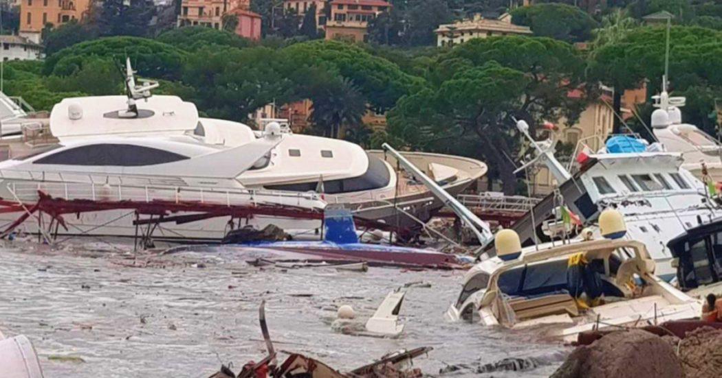"""Rapallo, l'ombra della camorra sul più grande porto turistico d'Italia: """"80 yacht distrutti dalla mareggiata recuperati e smaltiti illegalmente"""""""