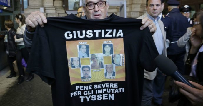 """Rogo ThyssenKrupp, pena sospesa per un manager: ha fatto ricorso. Famigliari vittime: """"Offesa all'Italia"""""""