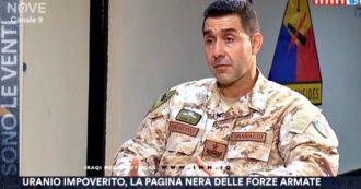 """Militari italiani morti per l'uranio impoverito, generale denuncia: """"Omissioni nella tutela della salute"""". Il servizio di Sono le Venti (Nove)"""