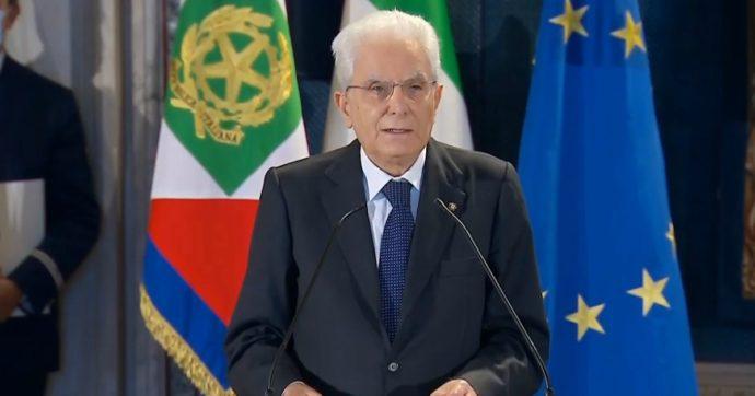 """Covid, Mattarella: """"Non posso tacere la preoccupazione per l'aumento del ritmo dei contagi e per le vittime"""""""