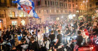 Festa a Napoli per la Coppa Italia. Guerra (Oms): 'Sciagurati'. Salvini: 'De Luca dov'era?'. De Magistris: 'Contagio della felicità'