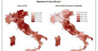 """Coronavirus, Istat: """"Se a fine anno rialza la testa, a Bergamo e Cremona la speranza di vita degli over 65 torna ai livelli di 20 anni fa"""""""