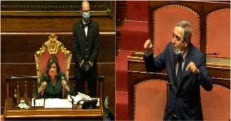 """Elezioni, Gasparri: """"Taverna si dimetta, imbroglio dire risultato non reale"""". Casellati: """"Senatrice non ha responsabilità"""". Ecco cosa è successo in Aula"""