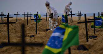"""Coronavirus, in Brasile oltre un milione di contagiati. L'Oms: """"Siamo in una nuova pericolosa fase"""""""