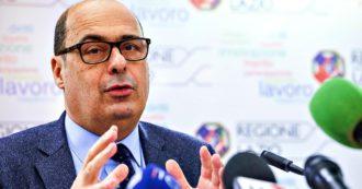 """Lazio, sale slot all'attacco di Zingaretti. Per 15 giorni di chiusura in più lo denunciano alla Corte dei Conti: """"Danno erariale di 27 milioni"""""""