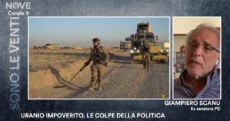 Militari italiani morti per l'uranio impoverito, la testimonianza di un ex senatore: 'Ho denunciato, il Pd mi ha escluso' – Sono le Venti (Nove)