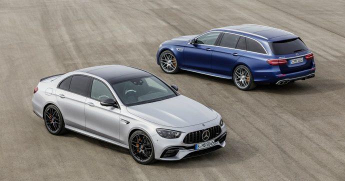 Mercedes Classe E AMG, la tradizione della velocità si rinnova – FOTO