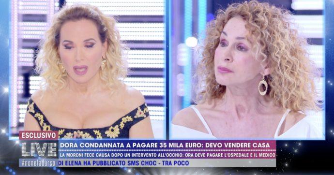 """Dora Moroni: """"Devo pagare 35mila euro entro un mese e mezzo, come faccio?"""""""