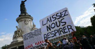 George Floyd, nuovo caso in Francia: in un video la morte di un fattorino di origini africane durante un fermo di polizia