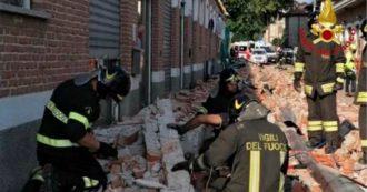 Varese, crolla il cornicione di un capannone: muoiono una donna e i due figli di 15 mesi e 5 anni. Illeso il terzo fratellino