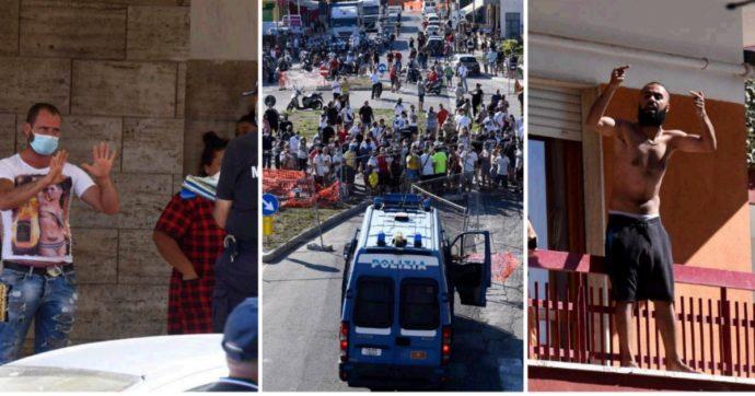 Mondragone, proteste e tensioni nella zona rossa: esercito in strada. Scontri tra italiani e bulgari: lanci di sedie e finestrini sfondati