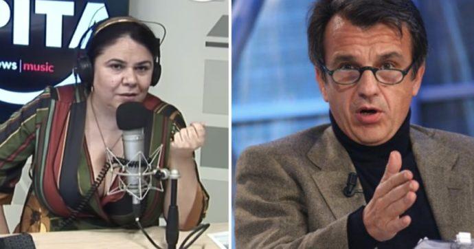"""Raffaele Morelli perde il controllo con Michela Murgia: """"Zitta e ascolta"""". Lei: """"Se ne vada"""""""
