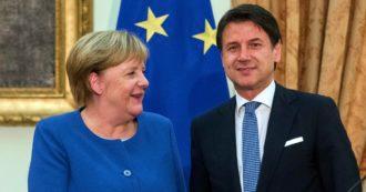 """Mes, Merkel: """"Non resti inutilizzato, ma la decisione sull'uso spetta all'Italia"""". Conte: """"I conti li facciamo io, Gualtieri e i ministri"""""""