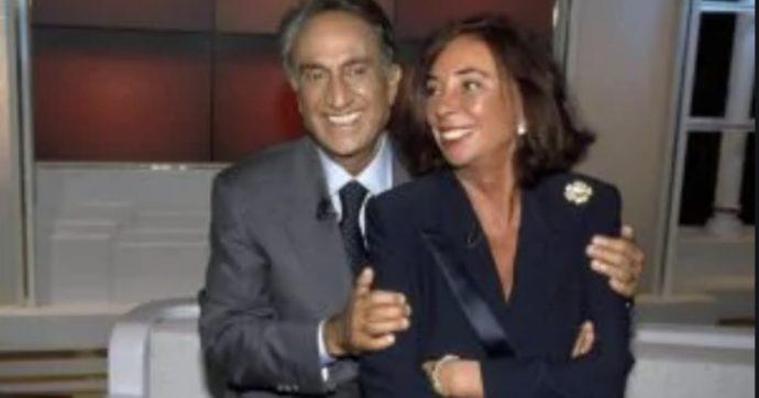 """Emilio Fede e la moglie Diana De Feo: """"Ci chiamiamo dieci volte al giorno. Non dormiamo insieme, ma la notte sogno di tenerla per mano"""""""