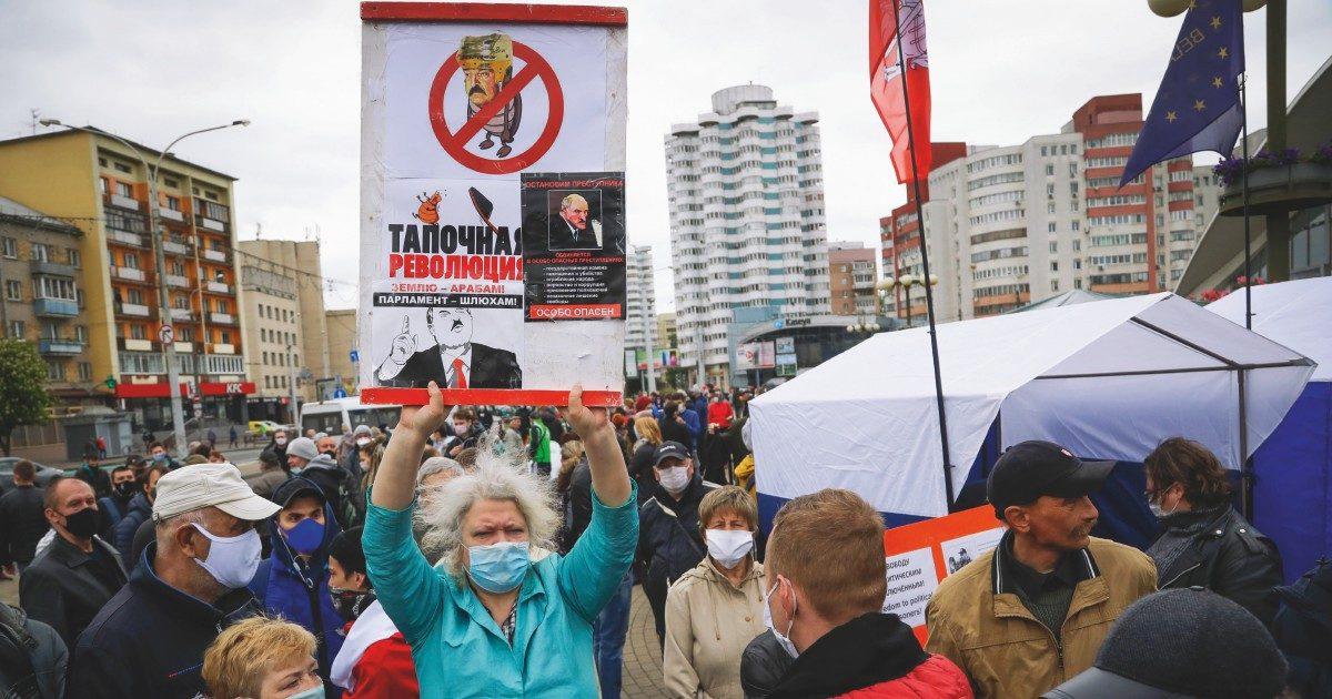 Bielorussia, Sasha arresta tutti